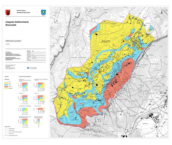 Integrale Gefahrenkarte Braunwald